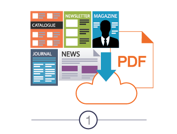 Upload your print ready PDF to Realview Servers on our easy-to-use publishing portal