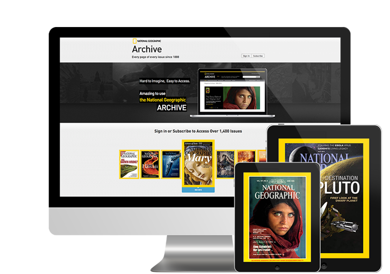 Digital Magazine Archive – Primer Thank You Page