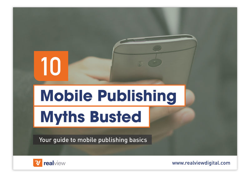 Mobile Myths Busted Landing Page